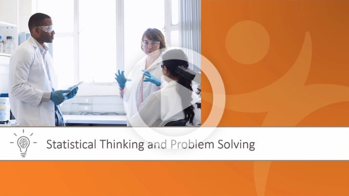 Statistical Thinking and Problem Solving Overview