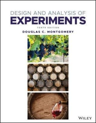 Design and Analysis of Experiments, 10th Edition