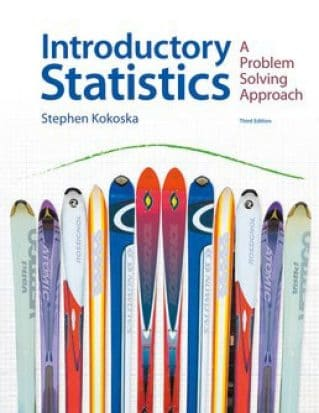Introductory Statistics: A Problem-Solving Approach, 3rd Edition