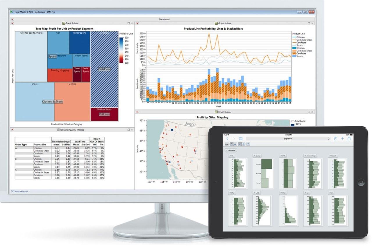 Share JMP screenshot iPad