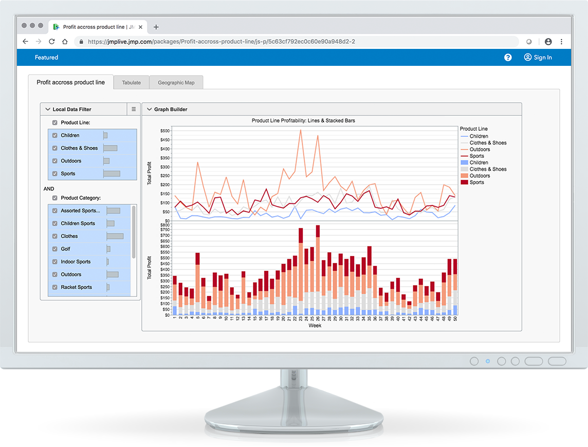 Manage reports in one central location