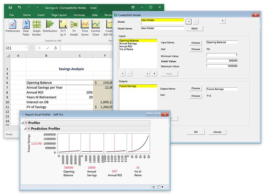 Excel and JMP Together in JMP 14