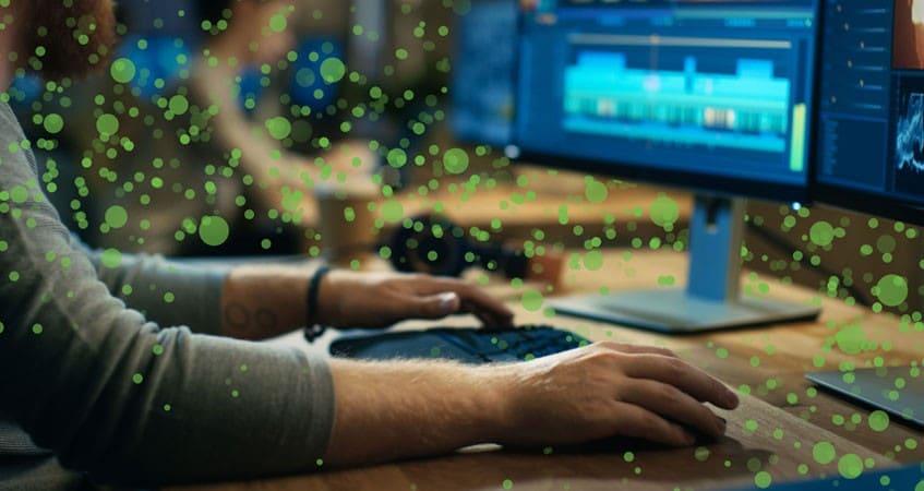 Seagate: Editing data dots