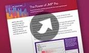 Hoja de datos: La potencia de JMP Pro (PDF)