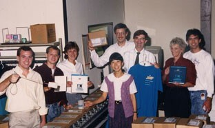 JMP 1 shipment group photo