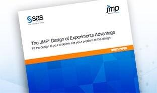 L'avantage JMP en termes de plans d'expériences