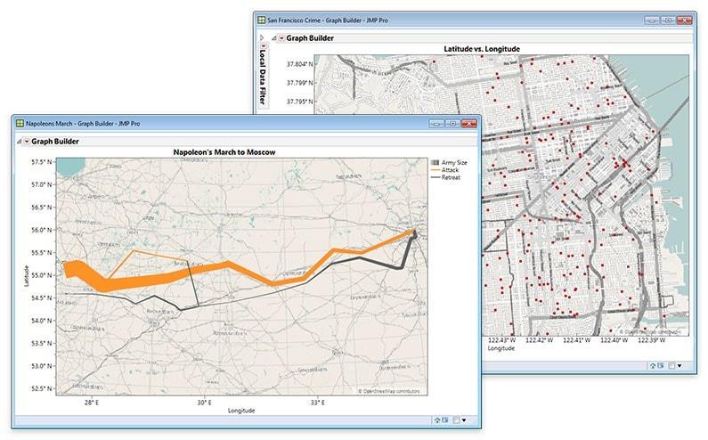 Cartes géographiques et plans de rues