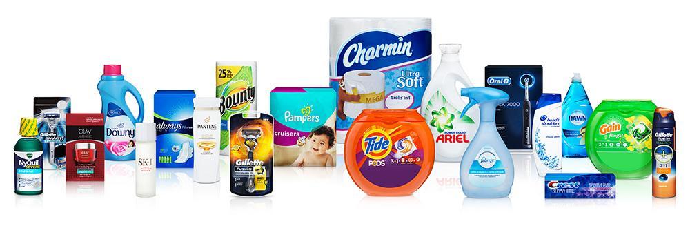 Produits de Procter & Gamble