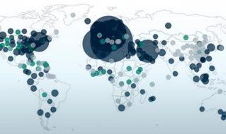 Explorez et visualisez des données globales sur le coronavirus COVID-19