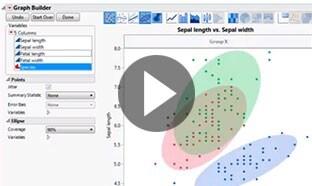 Demo - Visualisation des données dans JMP
