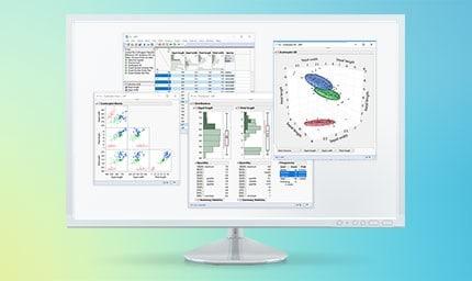Panoramica del software JMP