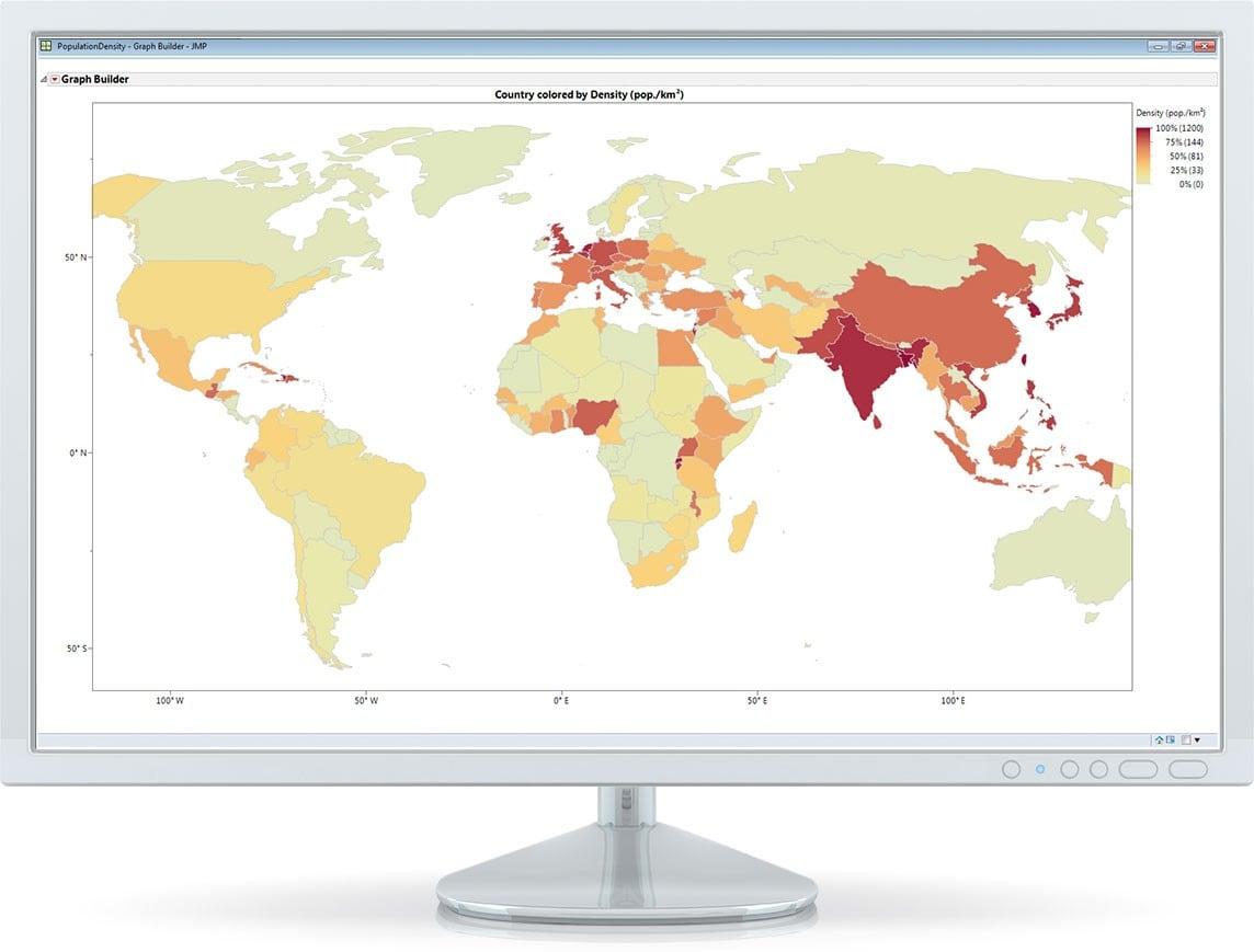 Esplorate i dati in modo più completo con potenti funzionalità statistiche