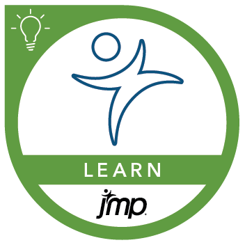 Learn JMP Badge