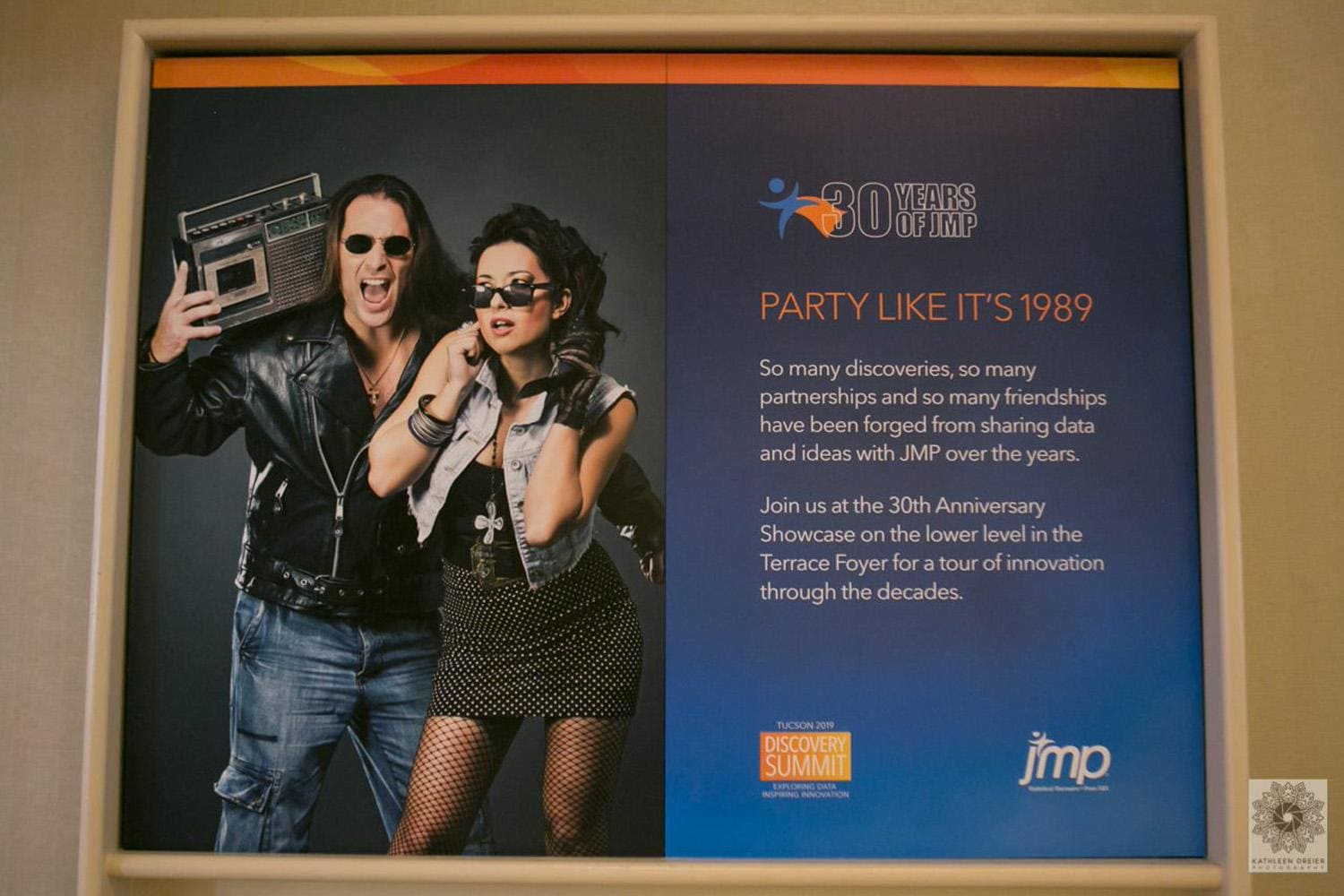 Party Like it 1989 display