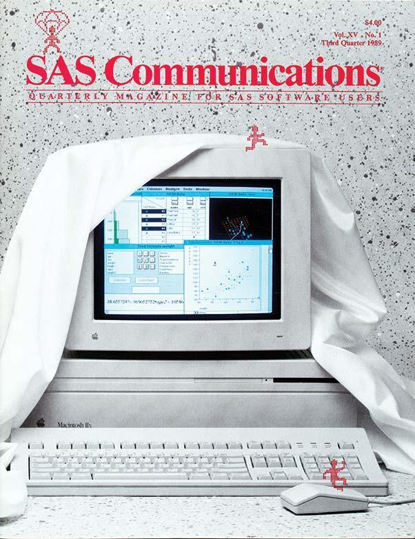 SAS Communications Magazine - 1989