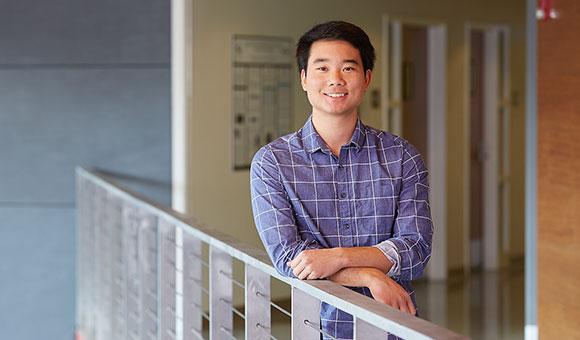 David Otsu(デイヴィッド・オツ)、大学院生