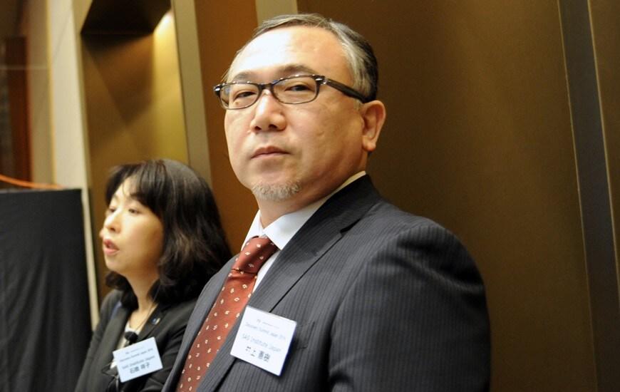 Noriki Inoe and Sachiko Ishibashi