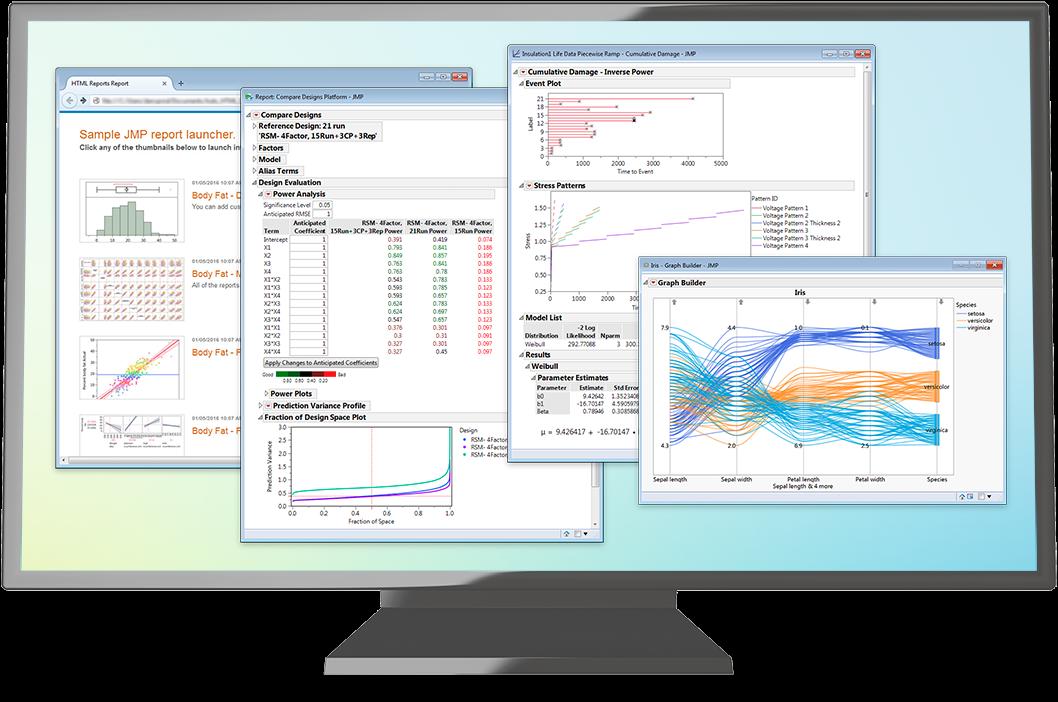 JMP 汎用的な統計解析ソフトウェア