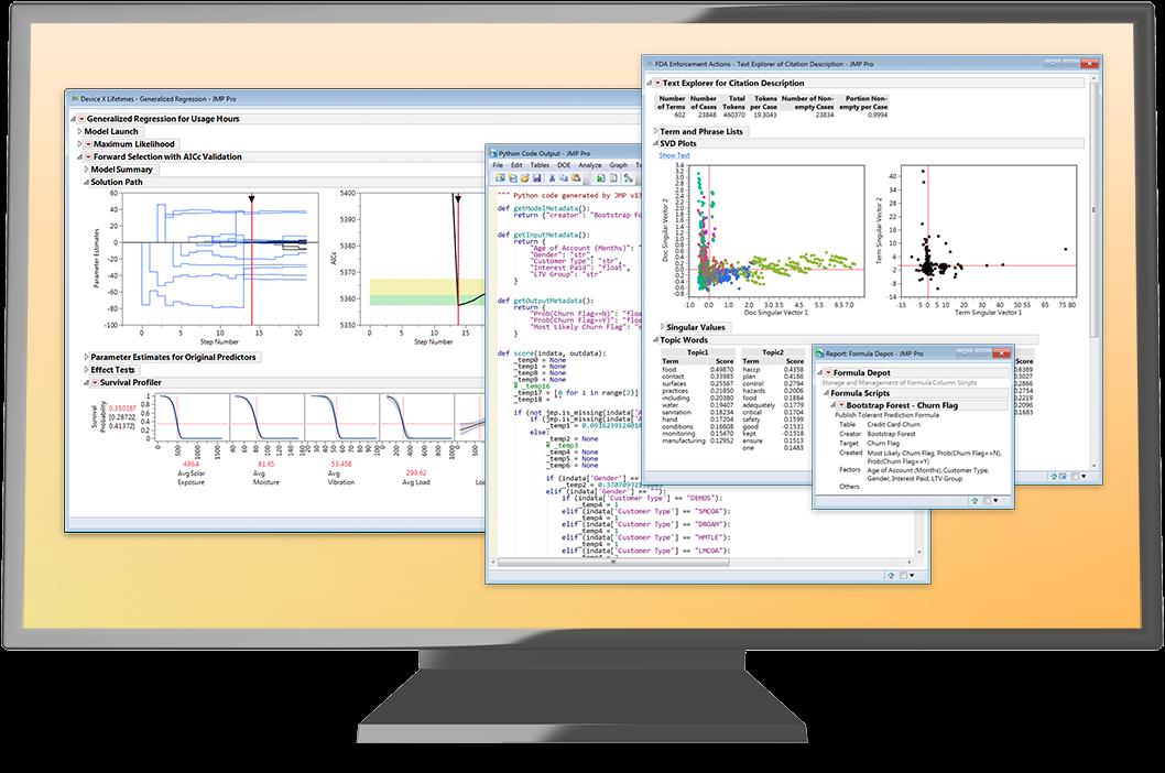 JMP Pro 予測モデルの作成や高度な統計解析に