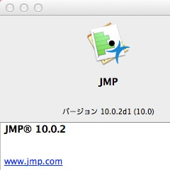 About JMP 10: Mac