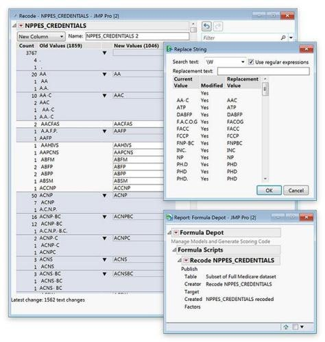 Data Shaping and Pre-Processing in JMP 14