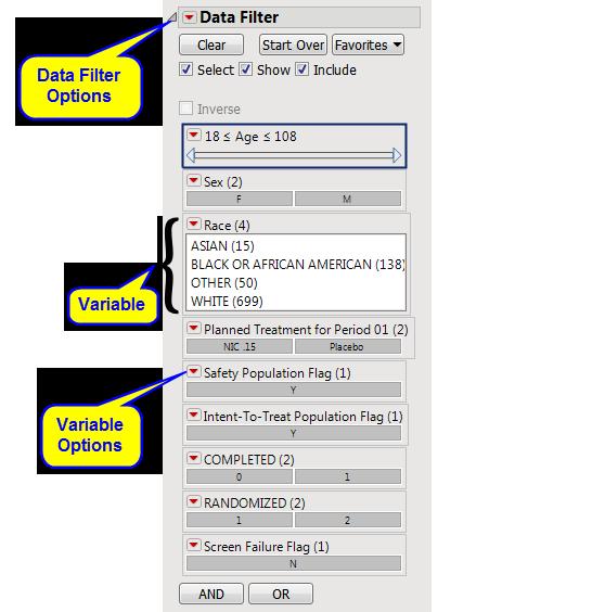 Data Filter
