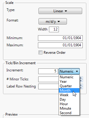 Customize Axes and Axis Labels in the Axis Settings Window