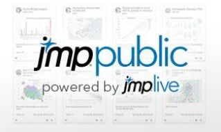 分享您的统计发现成果,查看JMP Public的特色功能。