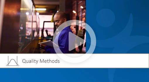 视频:质量方法概述