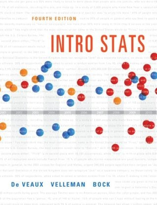 Intro Stats, 4th Edition