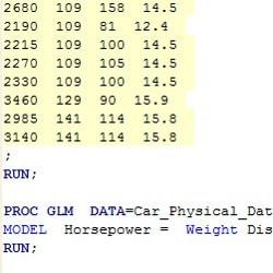 生成SAS代码