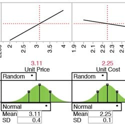 Optimization and Monte Carlo simulation